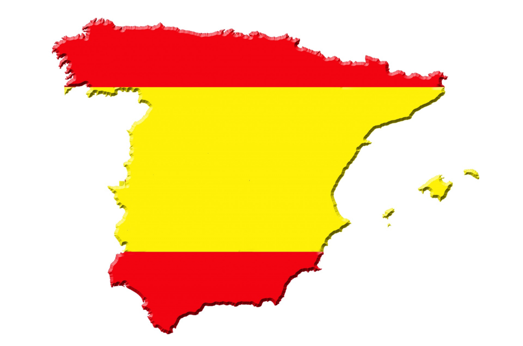 map-of-spain-and-flag-trans